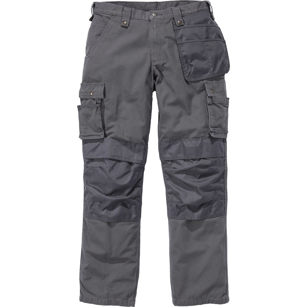 Image of Carhartt Mens Multipocket Stitched Ripstop Cargo Pants Trousers Waist 32' (119cm), Inside Leg 28' (93cm)