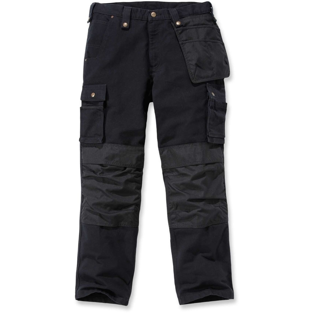 Carhartt Mens Washed Duck Multipocket Durable Cargo Pants Trousers Waist 38 (97cm)  Inside Leg 32 (81cm)