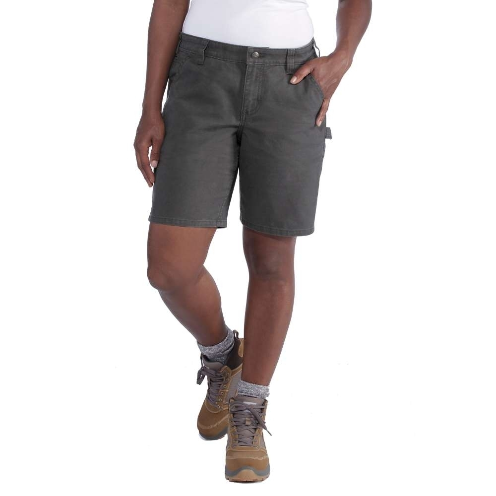 Carhartt Womens Crawford Durable Chino Utility Shorts Waist 38 (97cm)