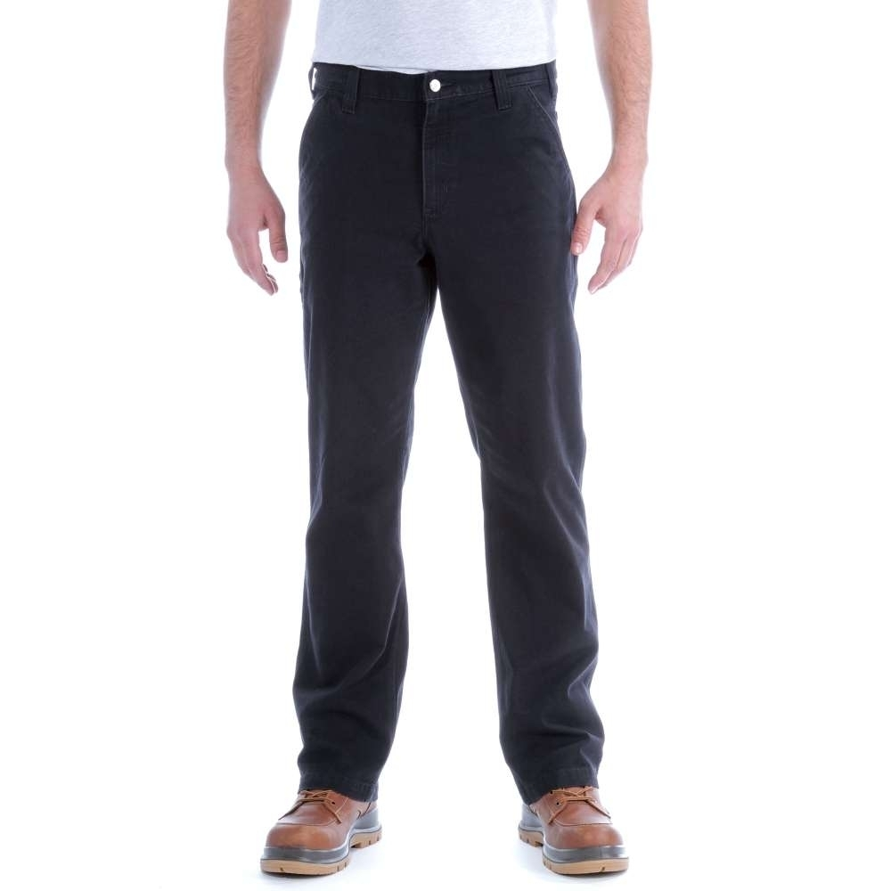Image of Carhartt Mens Rugged Flex Rigby Dungaree Durable Stretch Pant Trousers Waist 40' (102cm), Inside Leg 34' (86cm)