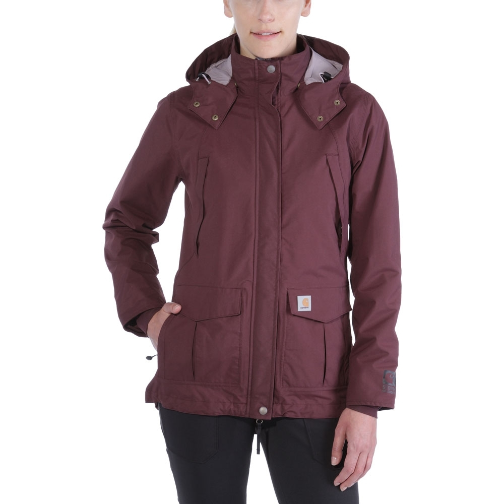 Carhartt Womens 102382 Shoreline Durable Waterproof Jacket X