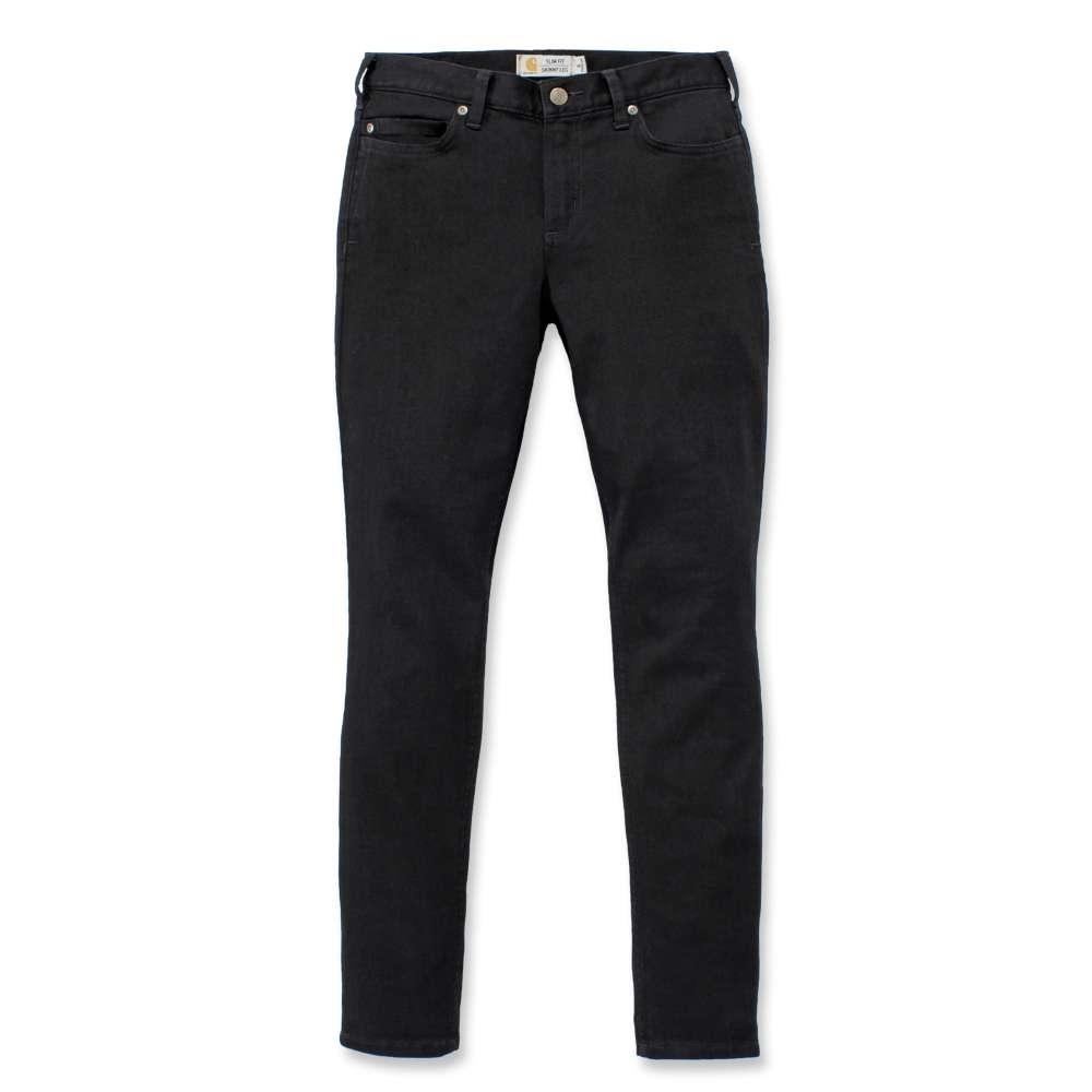 Carhartt Womens Layton Slim Fit Denim Work Jeans Trousers 8 - Waist 30 (76cm)  Inside Leg 31-32