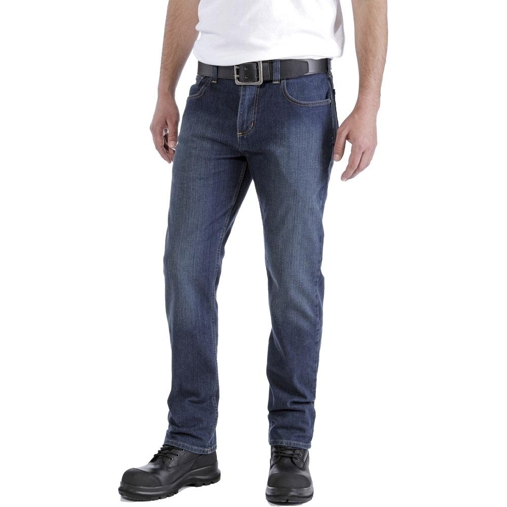 Carhartt Mens Duck D. Front Logger Utility Pockets Pants Trousers Waist 34 (86cm)  Inside Leg 30 (76cm)