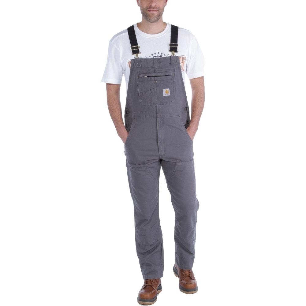 Carhartt Mens Rugged Cotton Spandex Flex Rigby Bib Overalls Waist 50' (118cm)  Inside Leg 32' (92cm)