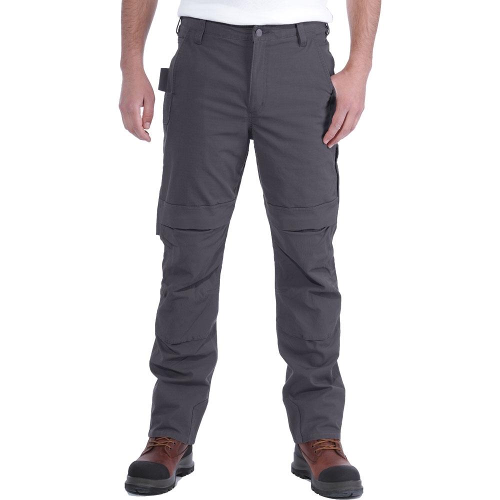 Carhartt Mens Steel Multipocket Reinforced Work Trousers Waist 40 (102cm)  Inside Leg 32 (81cm)