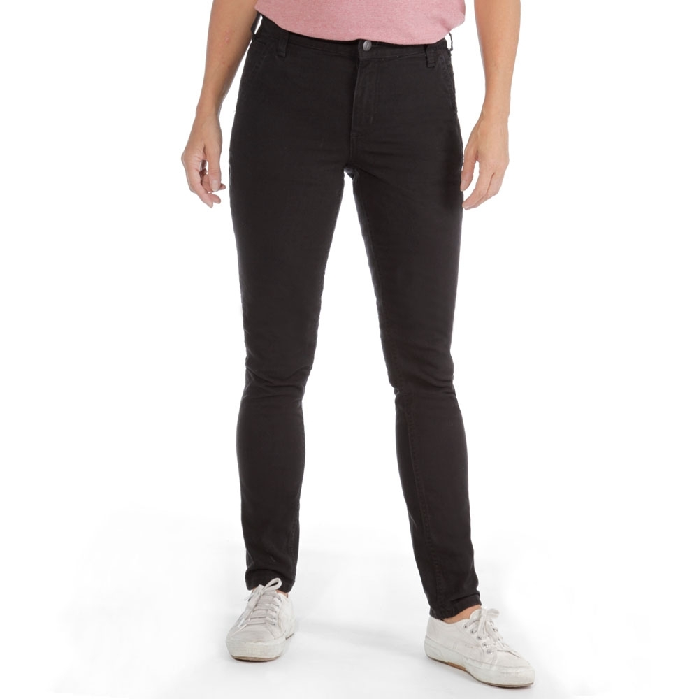 Image of Carhartt Womens Slim-Fit Crawford Rugged Stretch Trousers 8 - Waist 30' (76cm), Inside Leg 31-32'