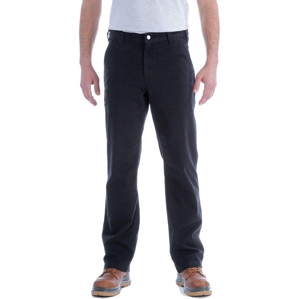 Carhartt Mens Stretch Duck Dungaree Rugged Chino Trousers Waist 32 (81cm)  Inside Leg 32 (81cm)
