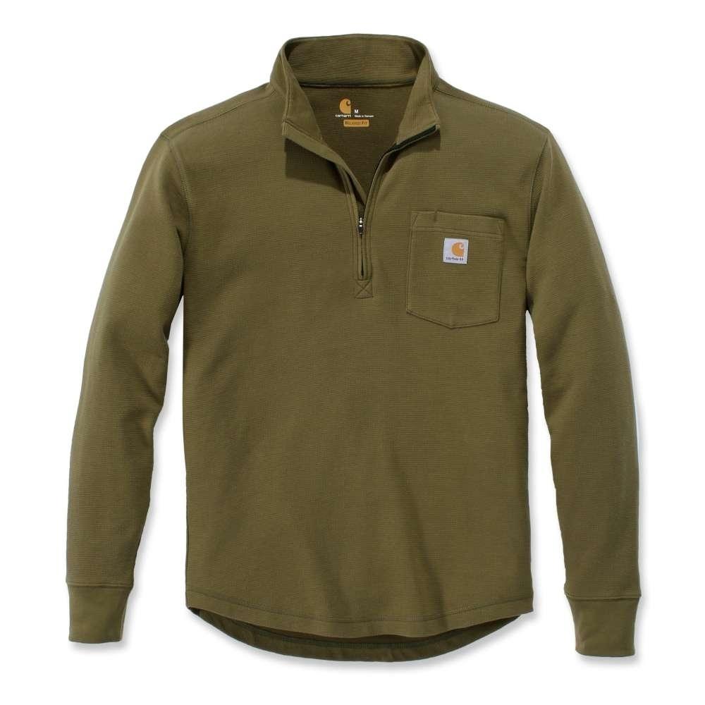 Carhartt Mens Hubbard Nylon Sherpa Lined Flannel Shirt Jacket Top L - Chest 42-44 (107-112cm)