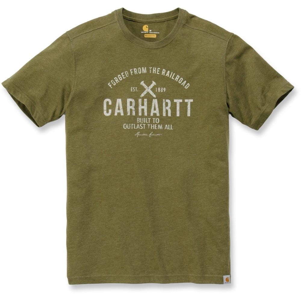Carhartt Mens Cotton Triple Stitched Durable Bib Overalls Waist 40 (102cm)  Inside Leg 30 (76cm)