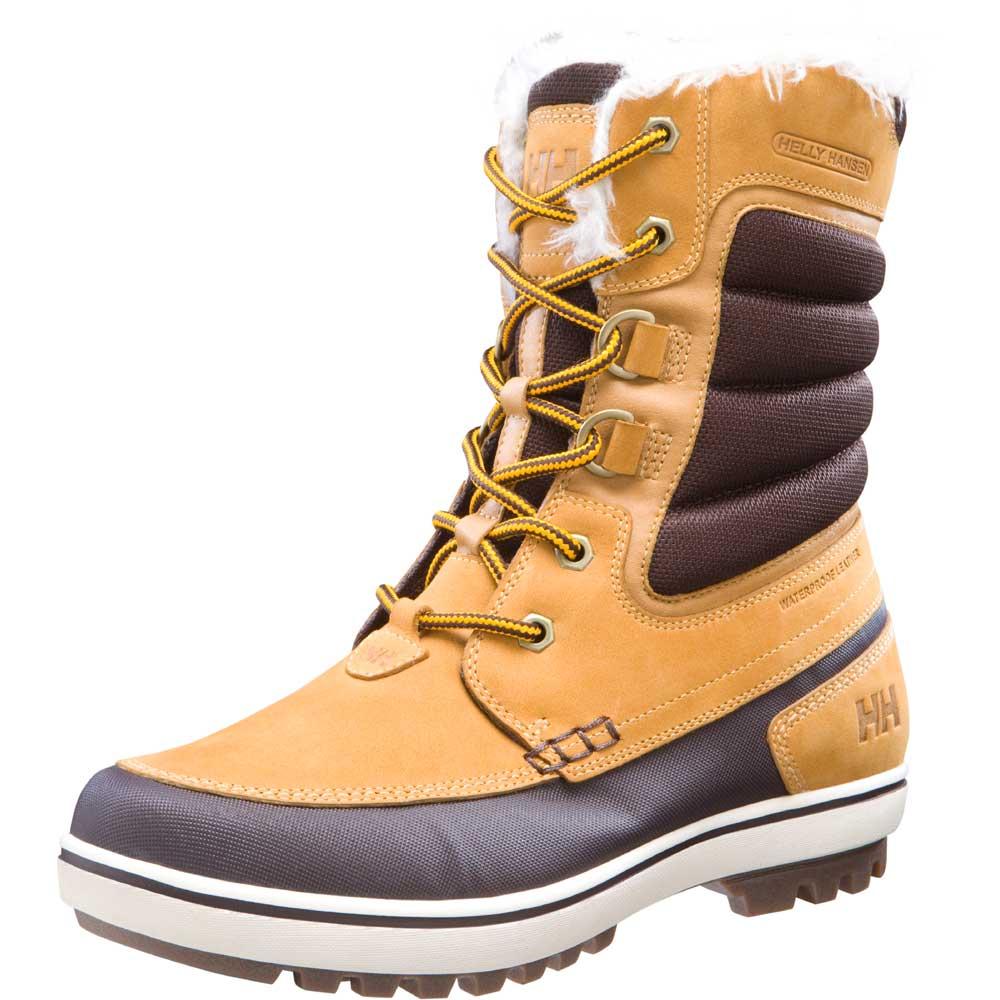 Helly Hansen Mens Garibaldi D Ring Waterproof Leather Boot 10797 Brown