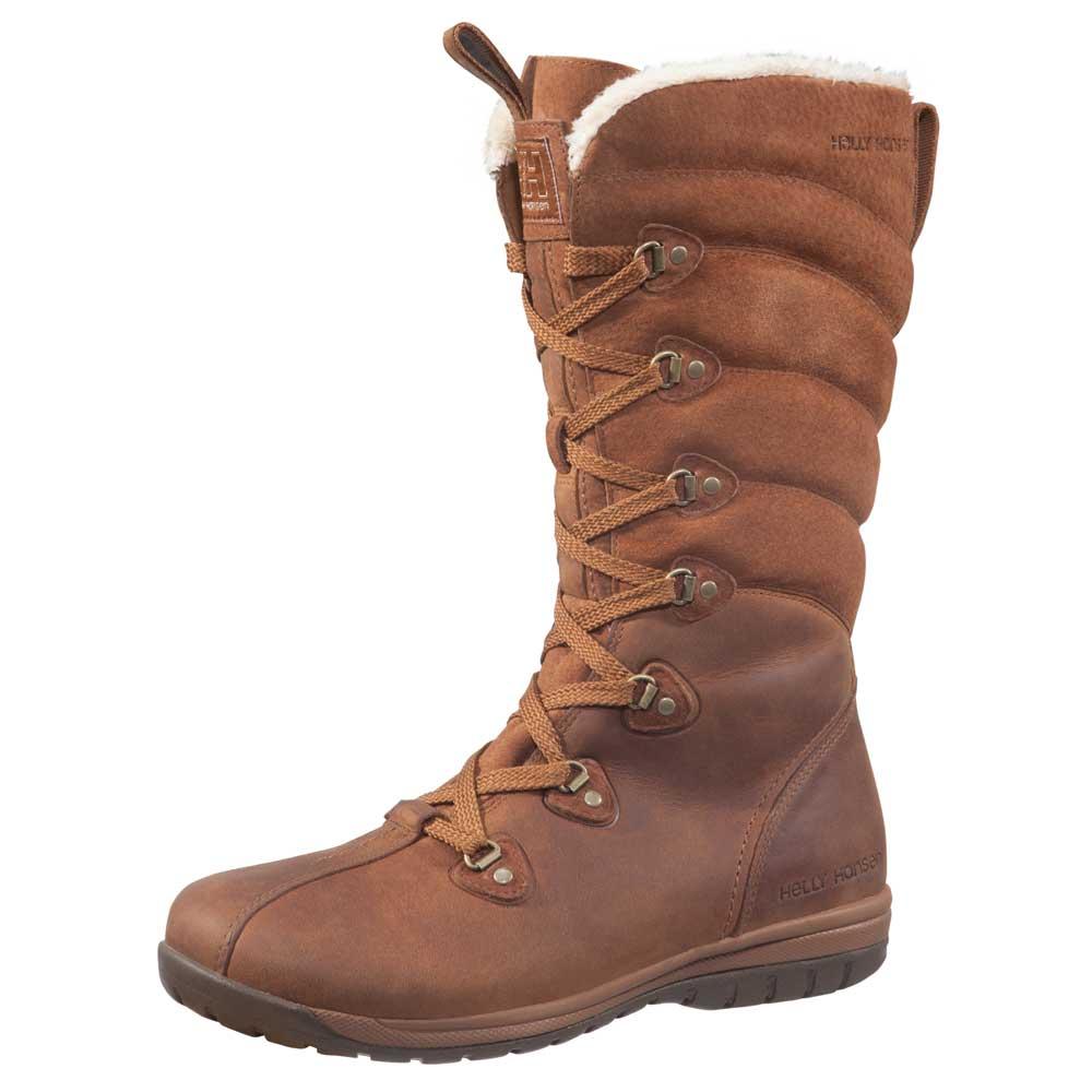 Helly Hansen Ladies Skuld 4 Waterproof Leather Winter Boot 10907 Brown