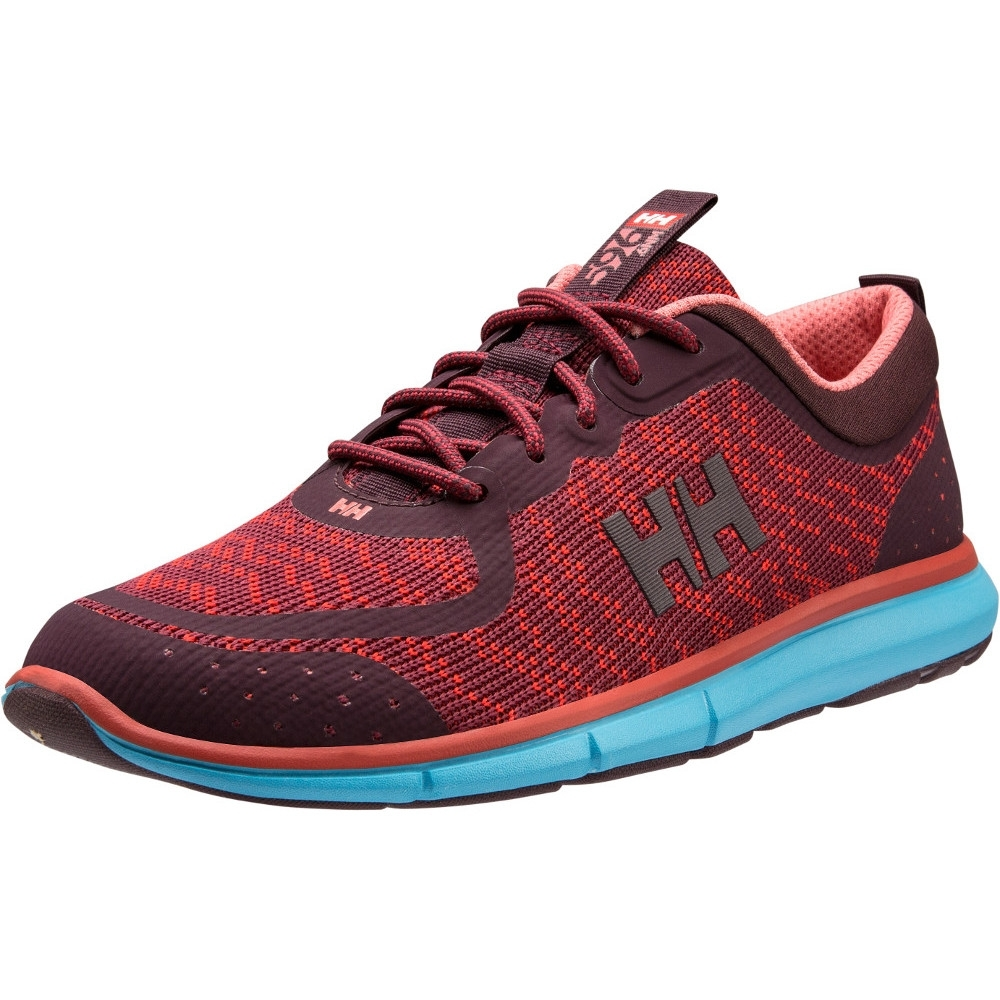 Helly Hansen Womens/ladies Hp Shoreline F-1 Lace Up Sailing Trainers Uk Size 7.5 (eu 41  Us 9.5)