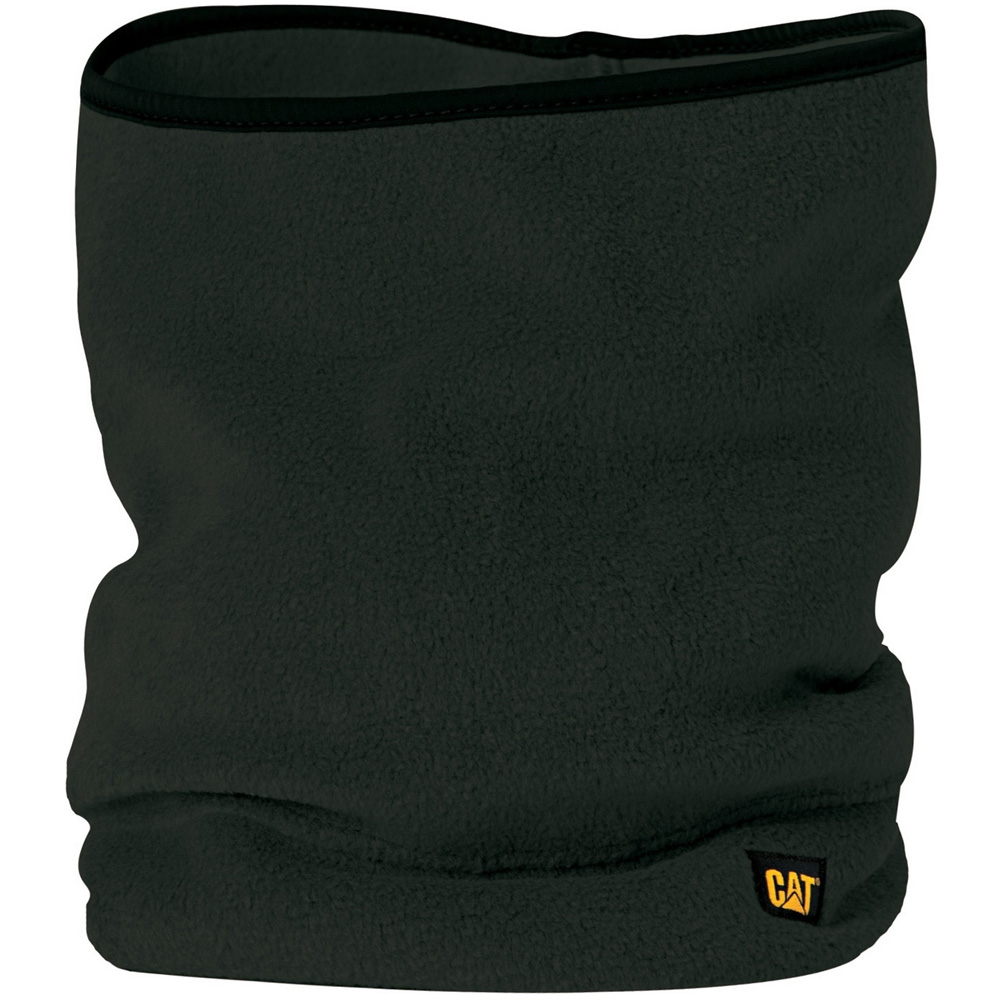 Product image of Caterpillar Mens Branded Fleece Neckwarmer Black