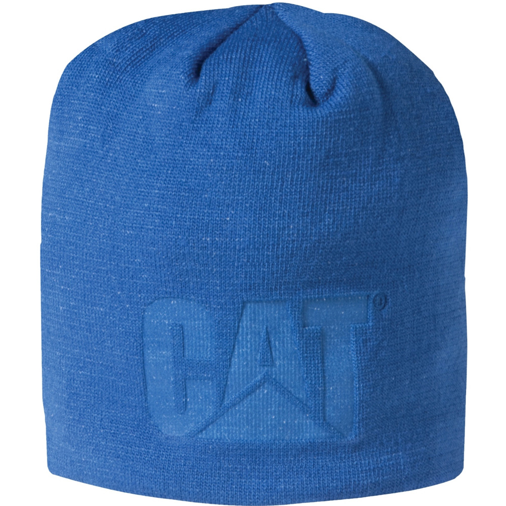 Product image of Caterpillar Mens Trademark Knitted Logo Hat Blue