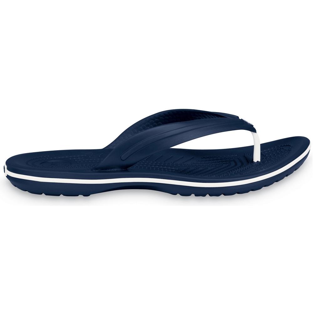 Product image of Crocs Mens Crocband Flip Croslite Flip Flop Sandal Navy