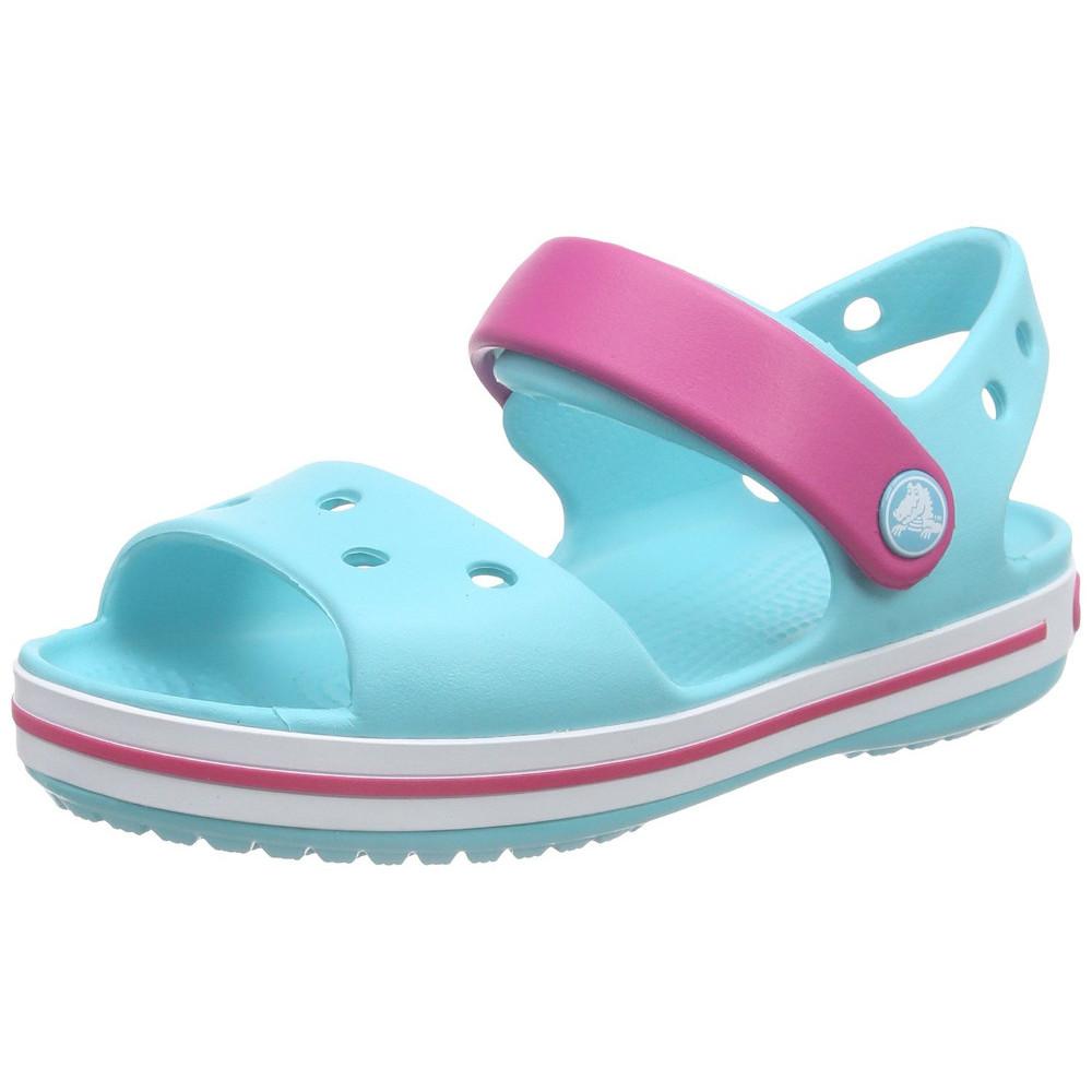 Product image of Crocs Girls/Boys Crocband Moulded Croslite Strap Fastening Sandal UK Size 10 (EU 27-28  US C10)