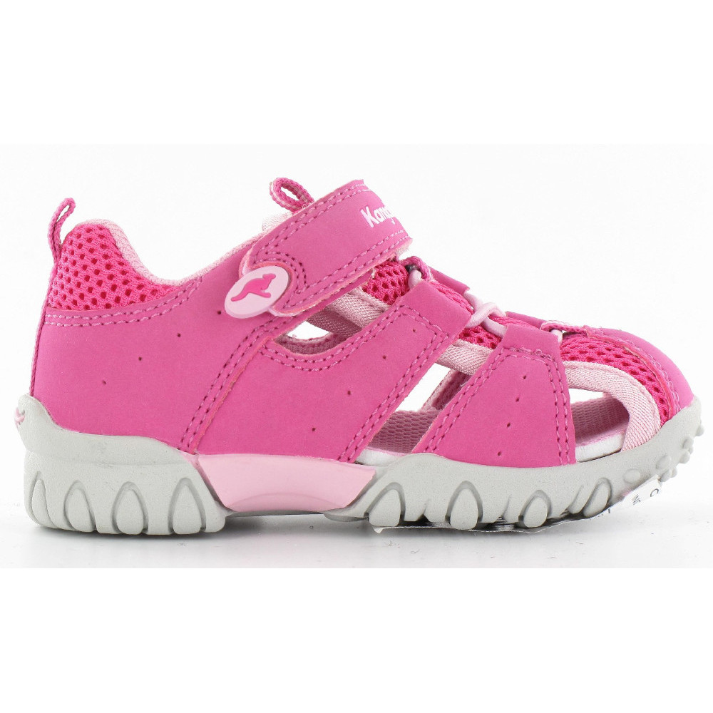 Product image of KangaROOS Girls Rock Closed Toe Sporty Strap Sandals UK Size 6 (EU 23)