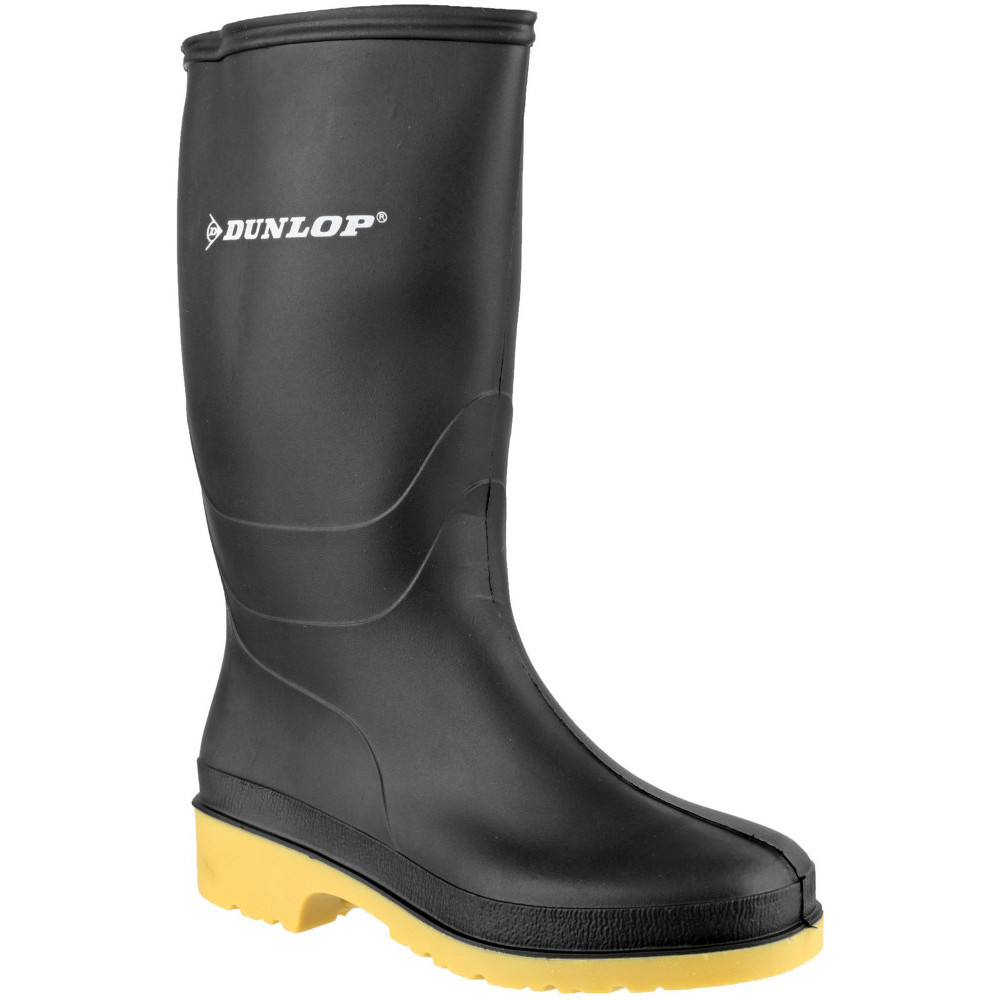 Dunlop Ladies Classic Dull Waterproof PVC Welly Wellington