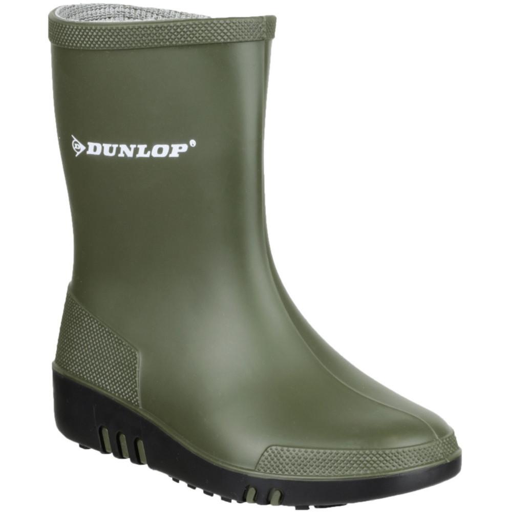 Dunlop Boys & Girls Mini Waterproof PVC Welly Wellington
