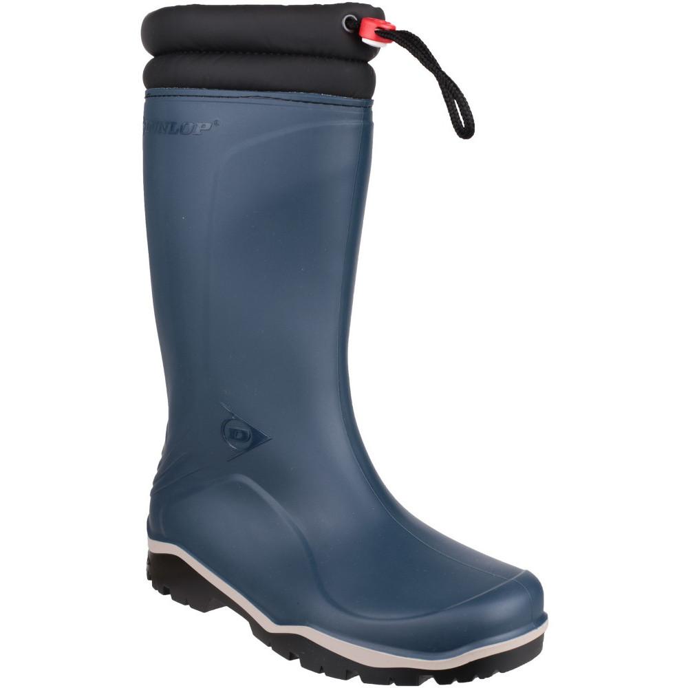 Dunlop Mens Blizard Fur Lined Insulated Welly Wellington Boots Uk Size 7 (eu 43)