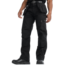 Dickies Mens Eisenhower Polycotton Multipocket Workwear Cargo Trousers