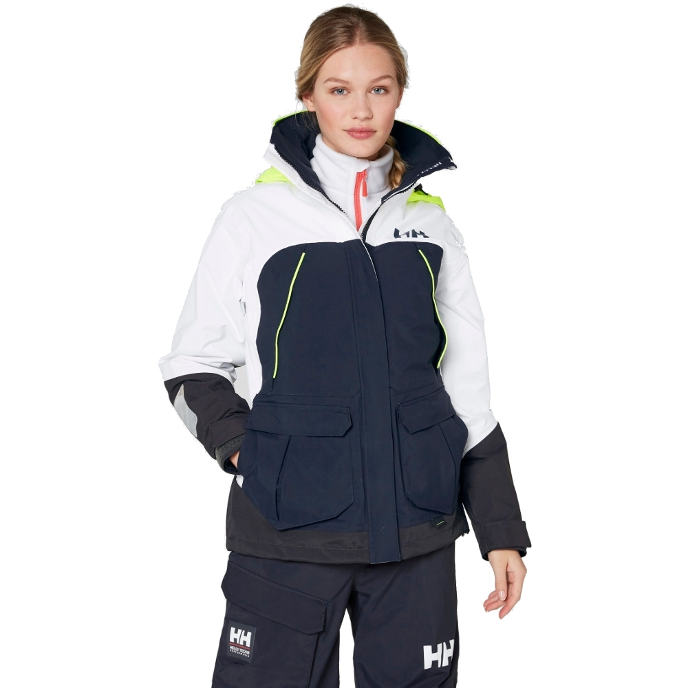 Image of Helly Hansen Womens/Ladies Pier Quick Dry Waterproof Sailing Jacket L - Chest 38-40' (96-102cm)