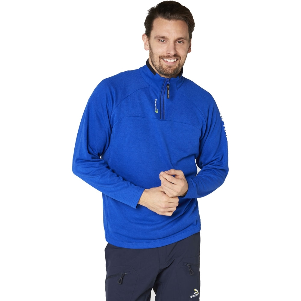 Helly Hansen Mens HP Half Zip Technical Quick Dry Active Midlayer Top M - Chest 39.5-41' (100-104cm)