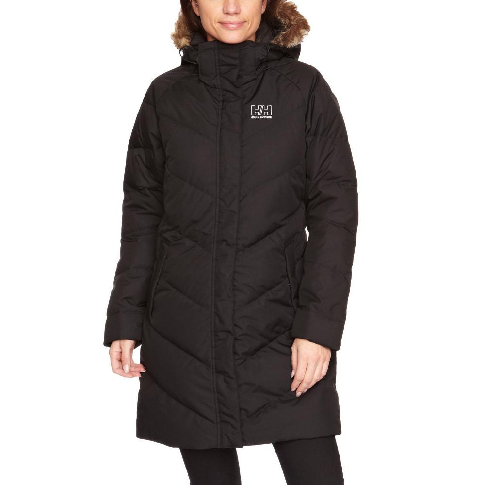Helly Hansen Womens Aden Down Parka Coat Jacket L - Bust 38-