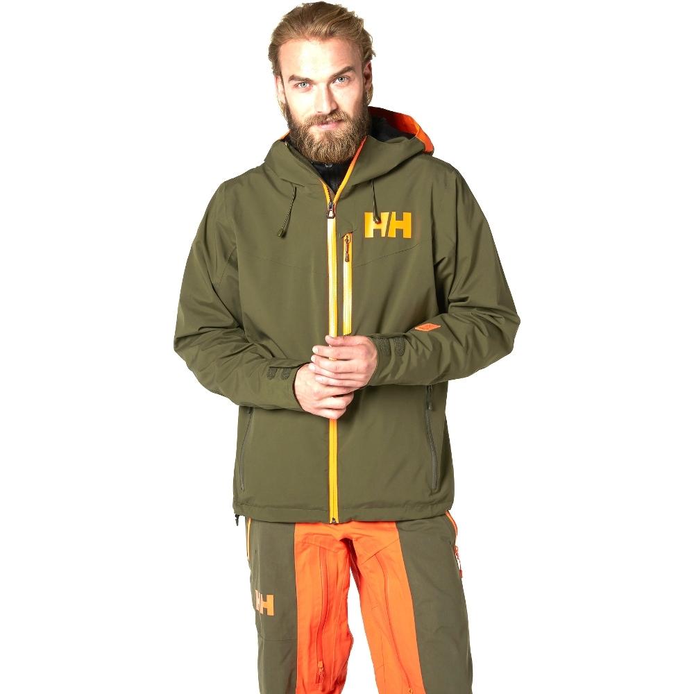 Helly Hansen Mens Gaia Waterproof Breathable Shell Jacket