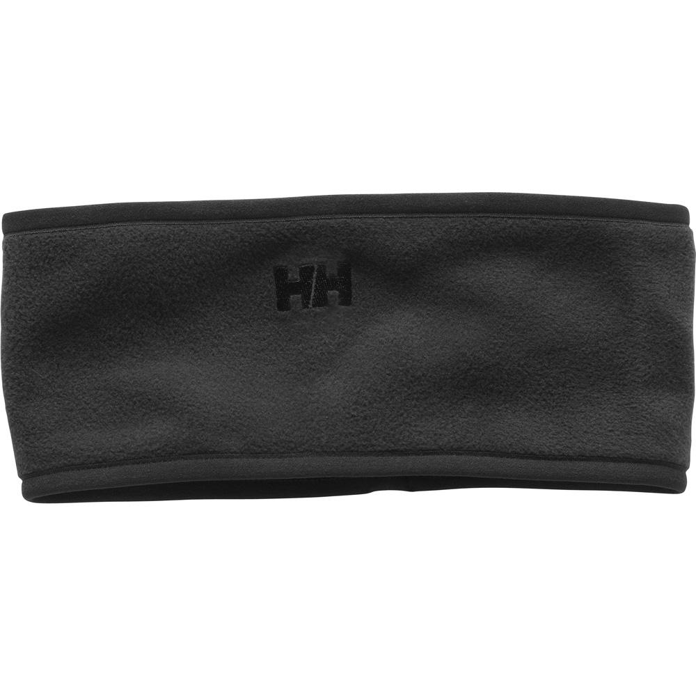 Product image of Helly Hansen Mens Polartec Warm Stretch Microfleece Headband Black