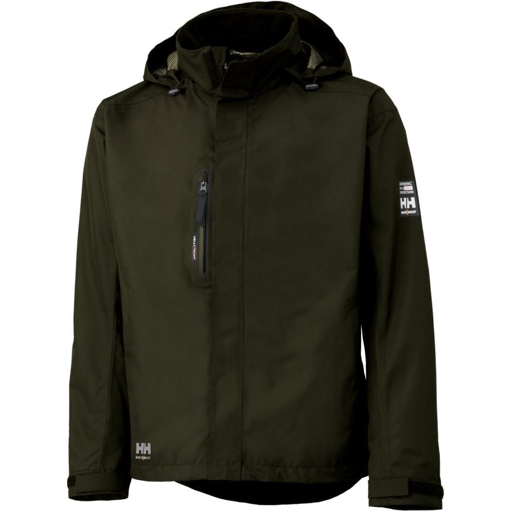 Helly Hansen Mens Haag Waterproof Windproof Workwear Zip Up Jacket Xs - Chest 34.5 (88cm)