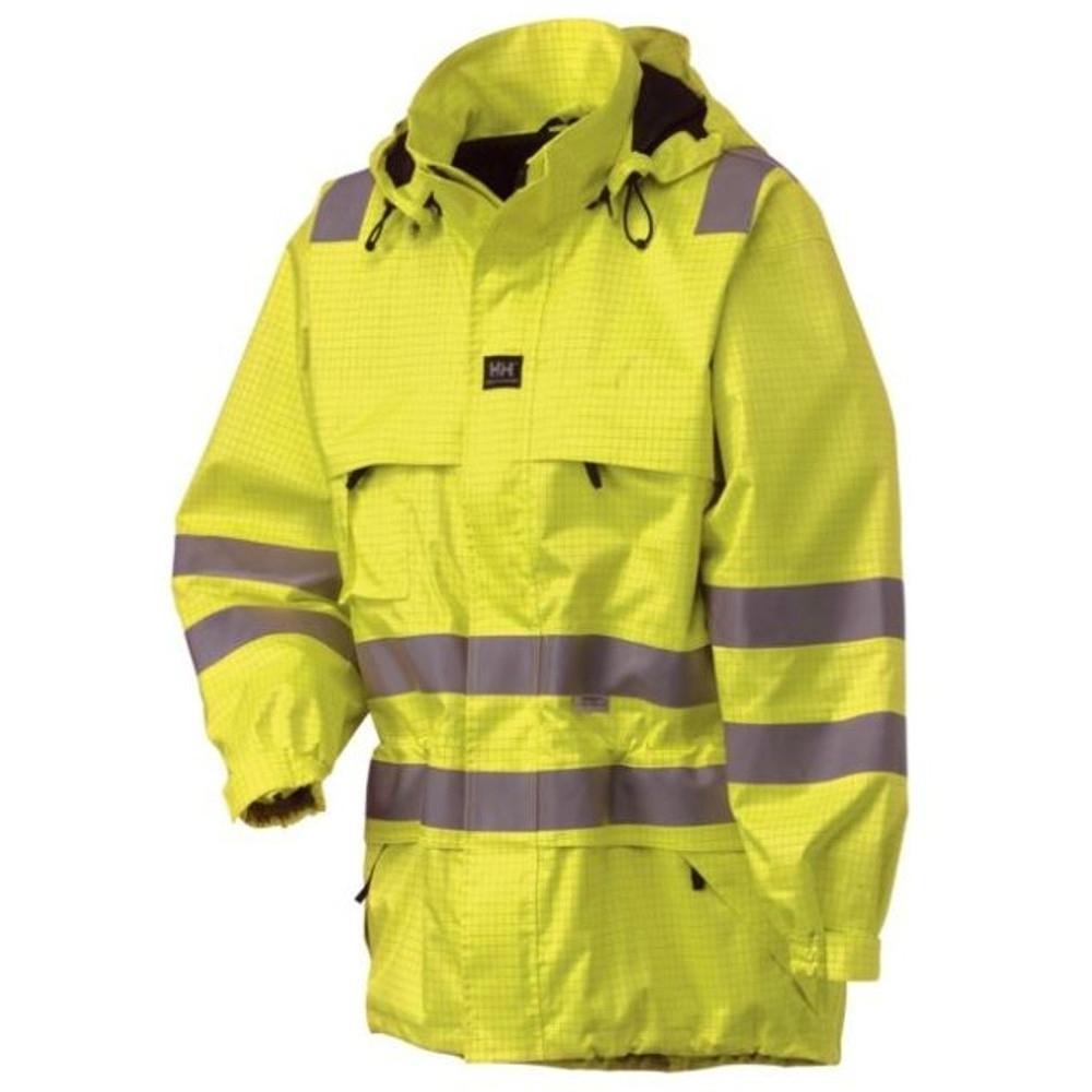 Helly Hansen Mens Rothenburg III Class 3 Hi Vis Workwear Coat Jacket 3XL - Chest 52' (132cm)