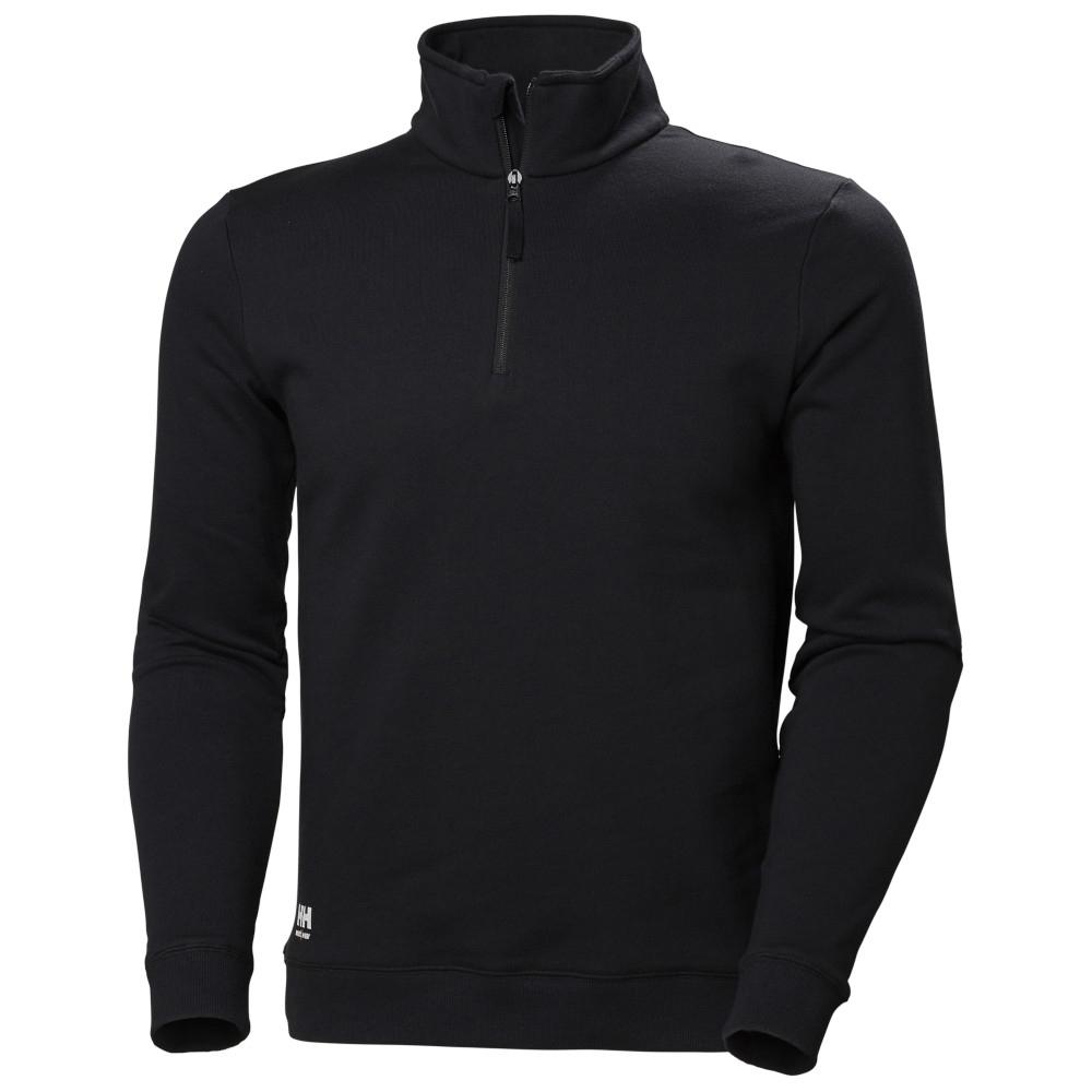 Helly Hansen Mens Manchester Cotton Half Zip Sweatshirt 3xl - Chest 52 (132cm)
