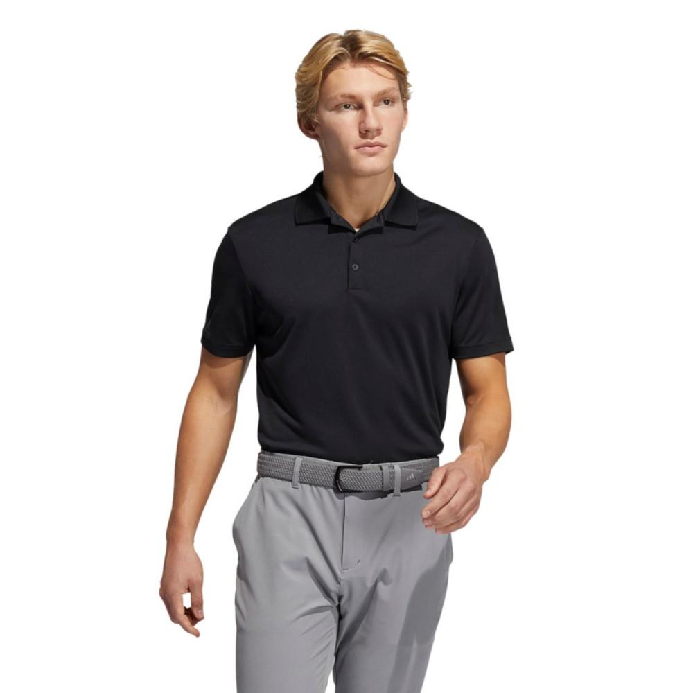 Adidas Mens Performance Lightweight Pique Golf Polo Shirt Large - Chest 40-44