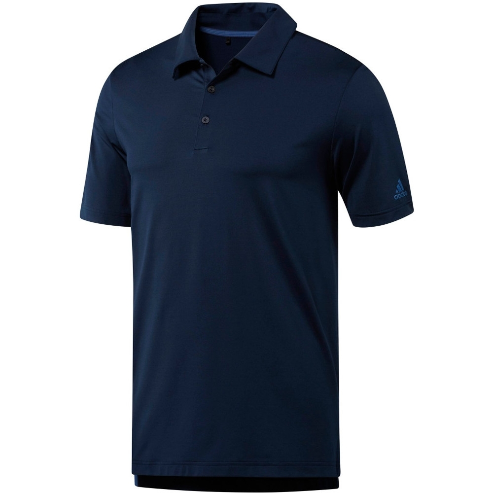 Adidas Mens Ultimate 365 Polo Uv Protect Moisture Wicking Polo Shirt 2xl- Chest 48-51