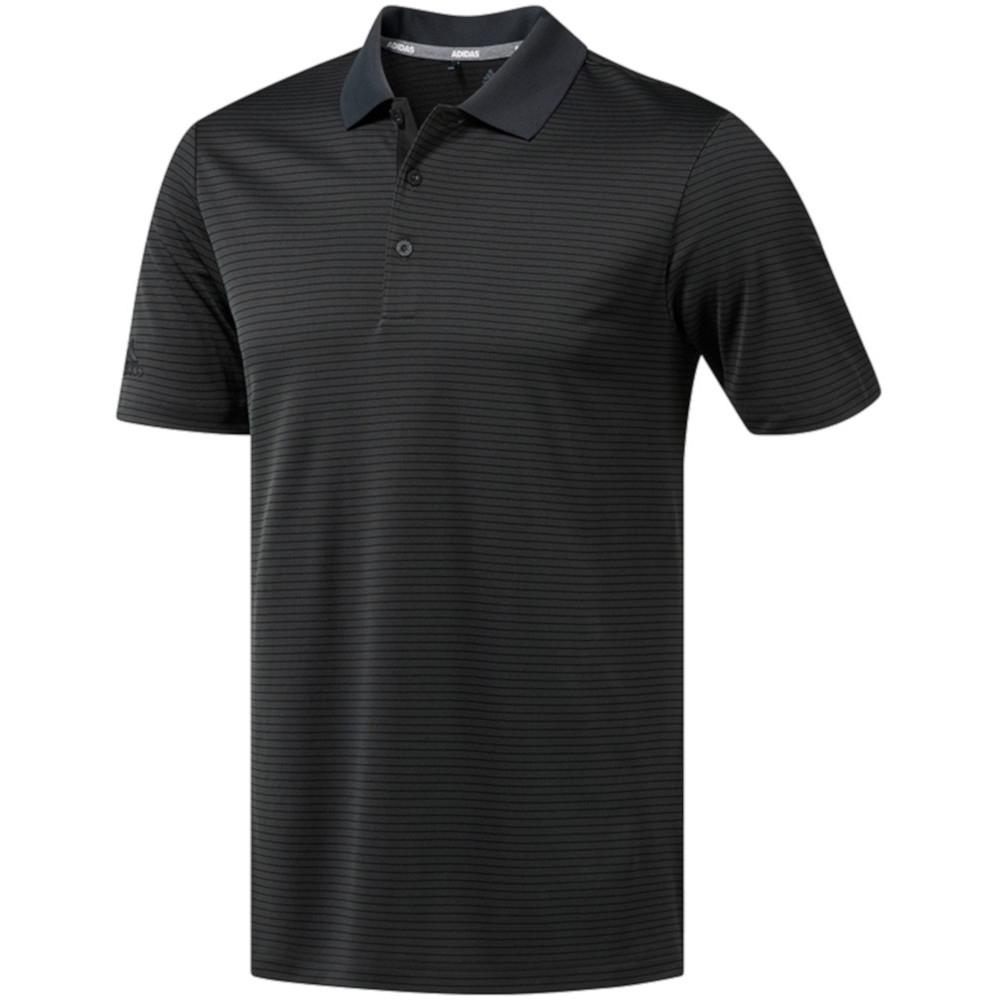 Adidas Mens 2 Colour Stripe Breathable Golf Polo Shirt Xl - Chest 44-48