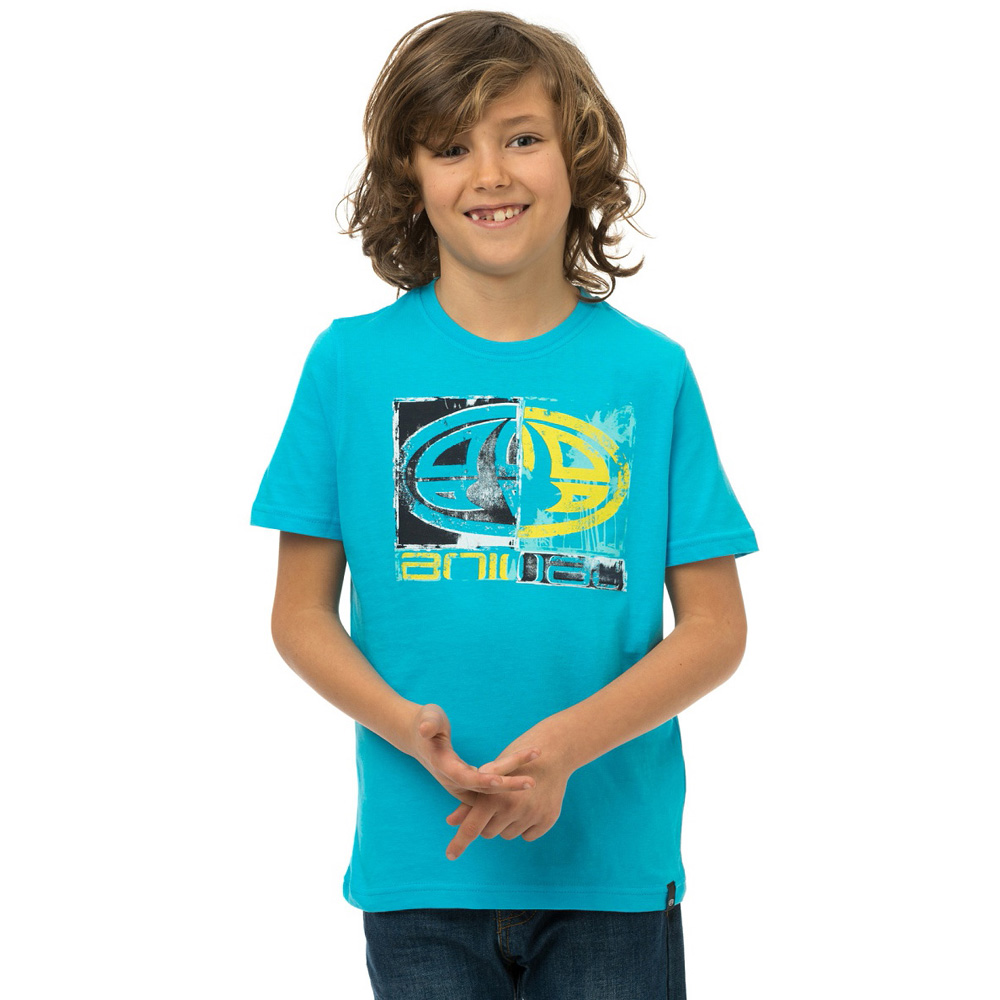 Product image of Animal Boys Handle Graphic Printed T Shirt CL5SG603 Blue