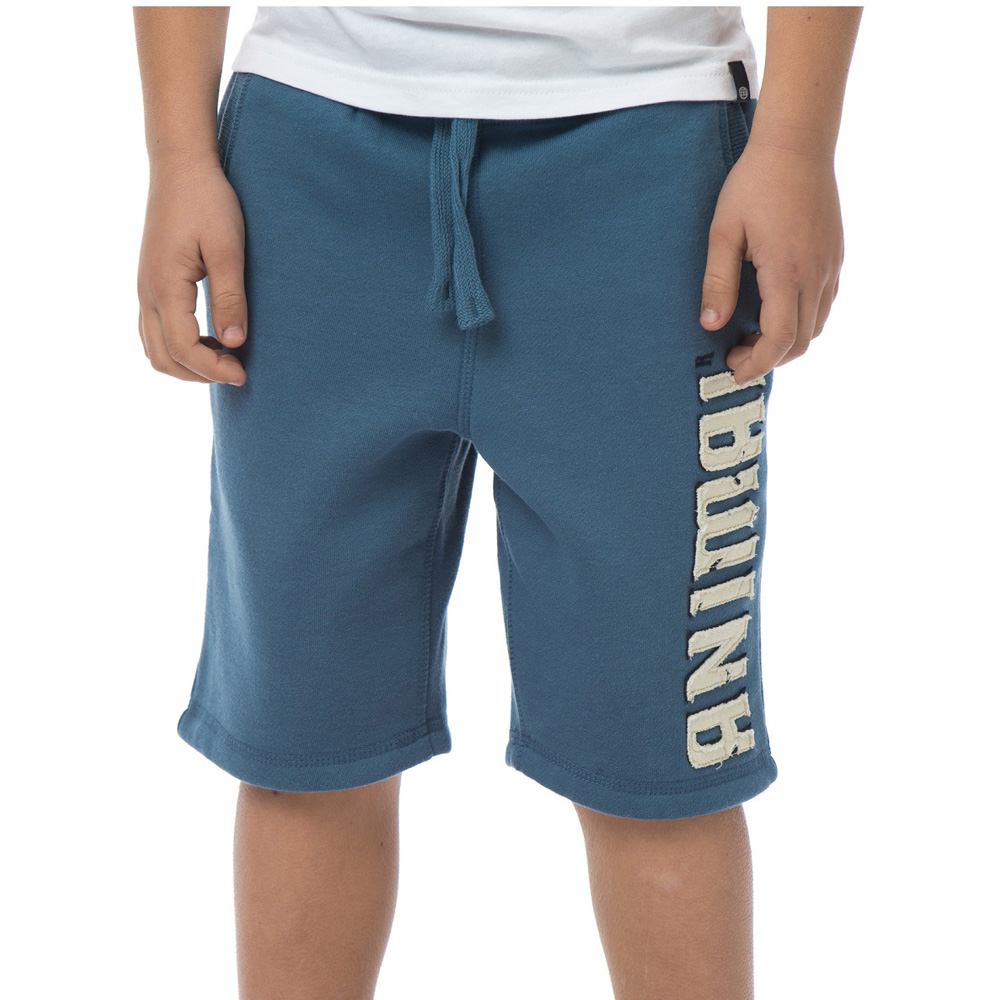 Product image of Animal Boys Alloni Printed Brand Sweat Shorts CL5SG645 Blue