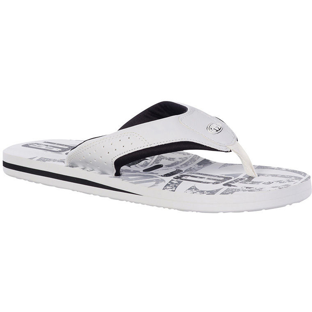 Product image of Animal Mens Jekyl Logo Flip Flop Sandals FM5SG002 White