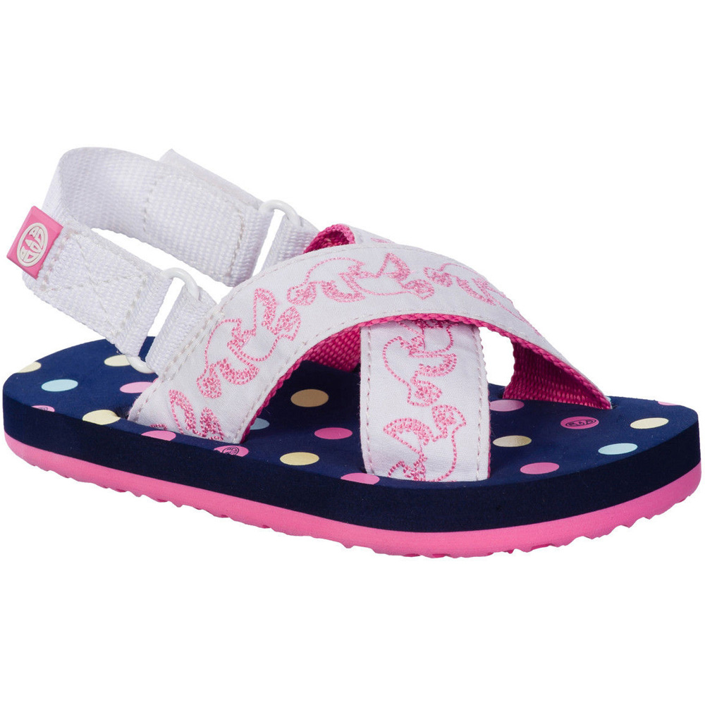 Product image of Animal Girls Daisie Sole Spot Patterned Sandals FM5SG951 Navy