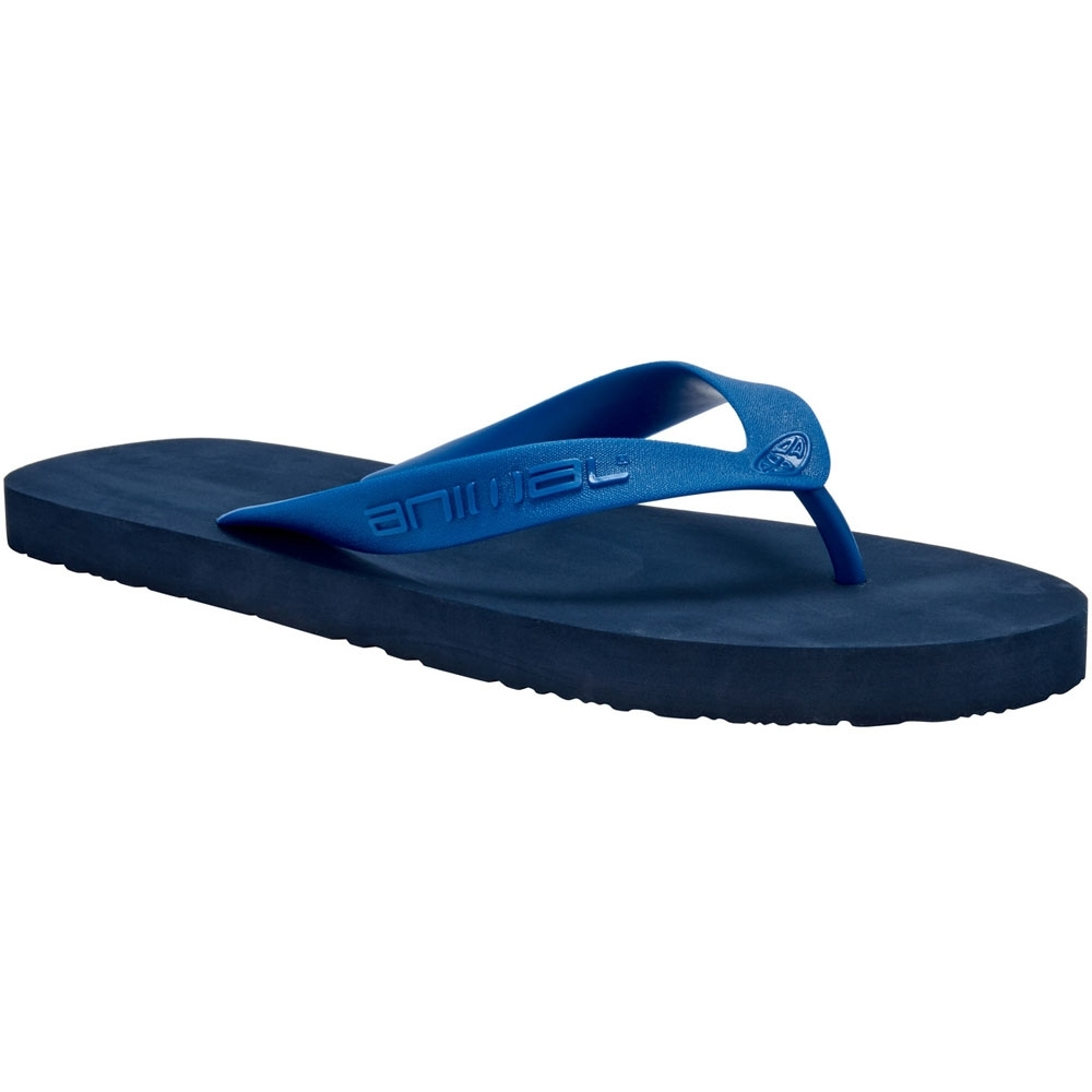 Image of Animal Mens Costaz Soft Moulded Comfort EVA Footbed Flip Flop Sandals UK Size 7 (EU 40.5 US 7.5)