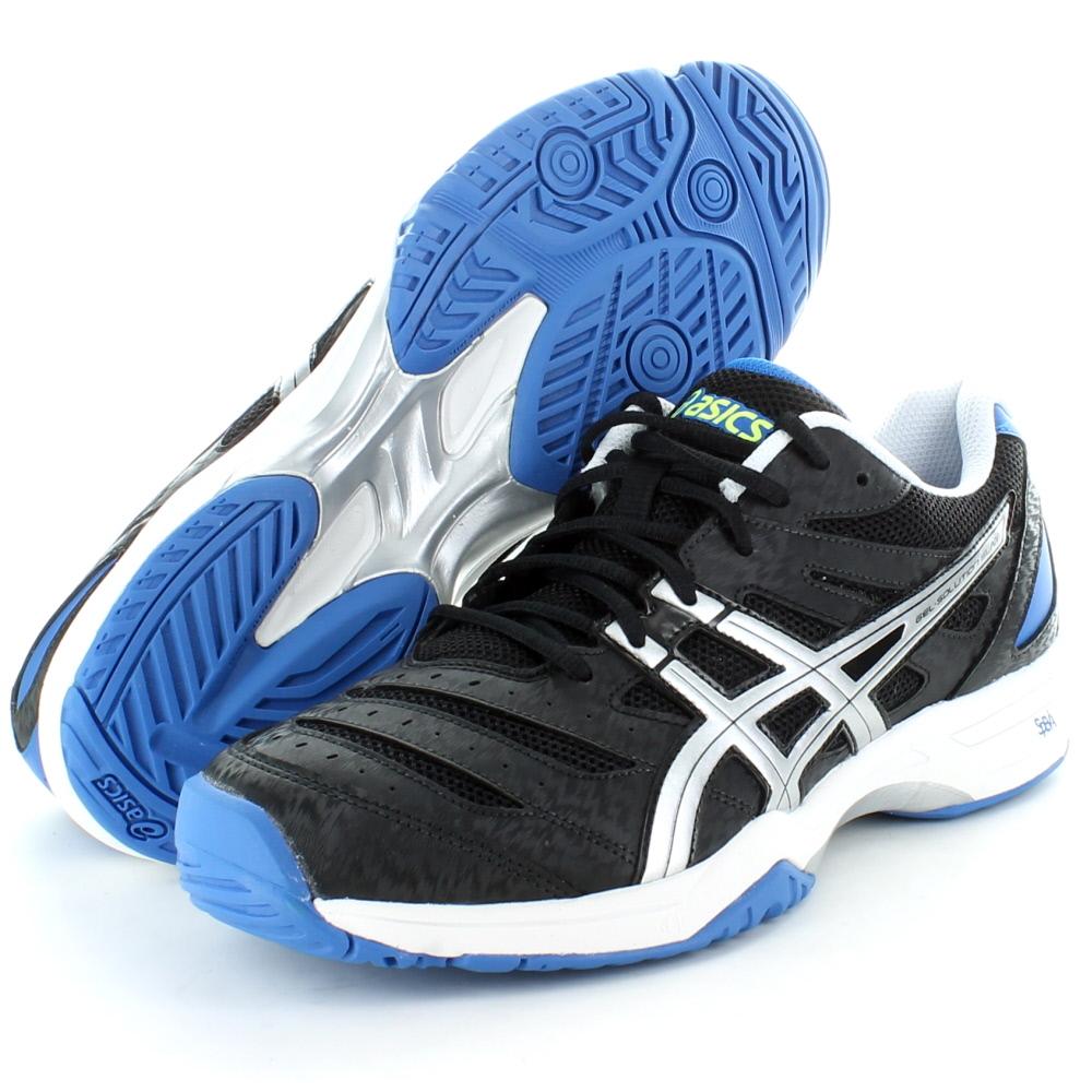 Asics E314N Gel Mens Solution Slam Tennis Shoes All Court Black