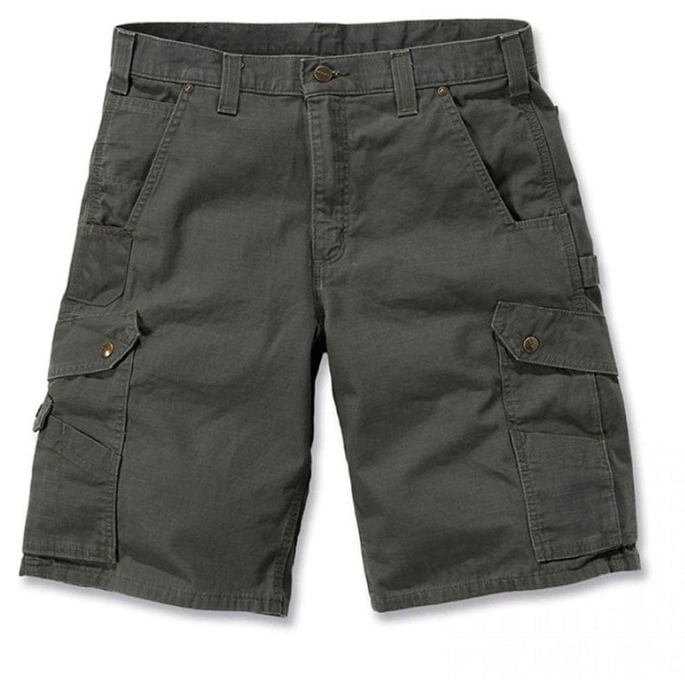 Carhartt Mens Ripstop Triple Stitched Nylon Cargo Utility Work Shorts Waist 34 (86cm)