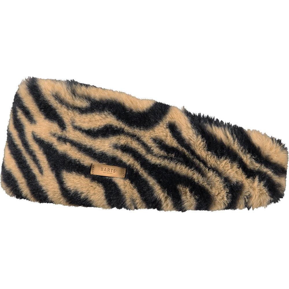 Barts Womens Calla Faux Fur Fleece Lined Warm Headband One Size