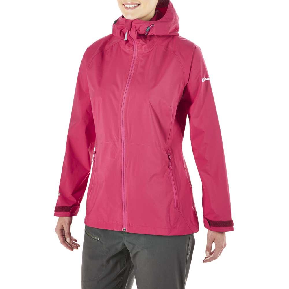 Berghaus Womens Stormcloud Waterproof Breathable Coat Jacket Pink