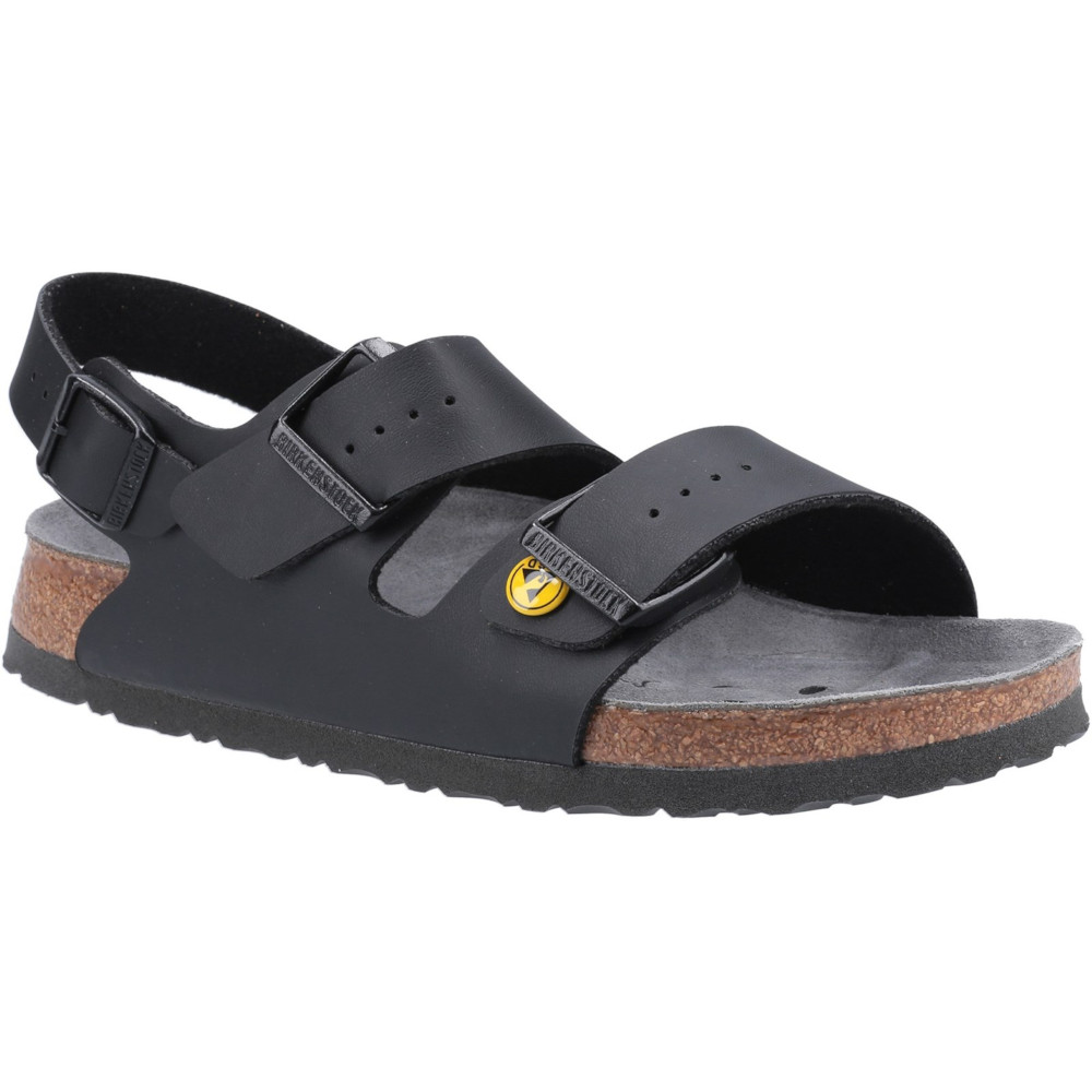 Birkenstock Womens Milano ESD Slip On Leather Sandals UK Size 3.5 (EU 36)