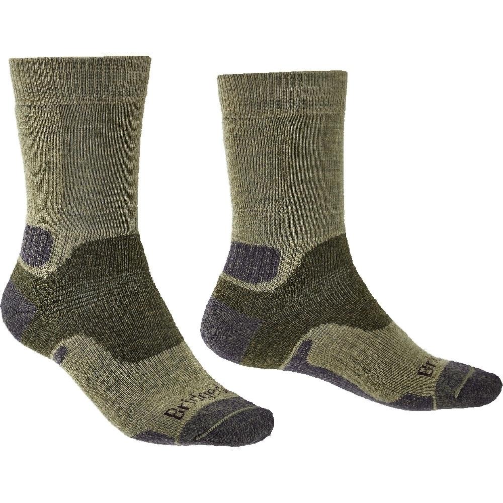 Bridgedale Mens Midweight Merino Endurance Walking Socks X-large - Uk 12+ (eu 48+  Us 13+)