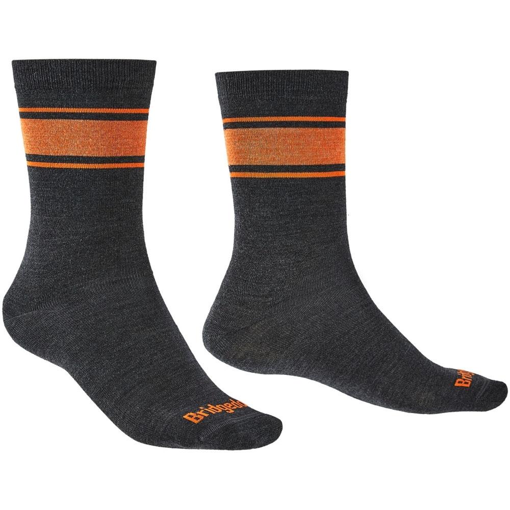 Bridgedale Mens Everyday Ultra Light Merino Walking Socks Medium - Uk 6-8.5 (eu 40-43  Us 7-9.5)