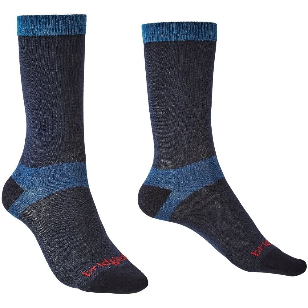 Bridgedale Womens Liner Coolmax Base Layer Walking Socks Large - Uk 7-8.5 (eu 41-43  Us 8.5-10)