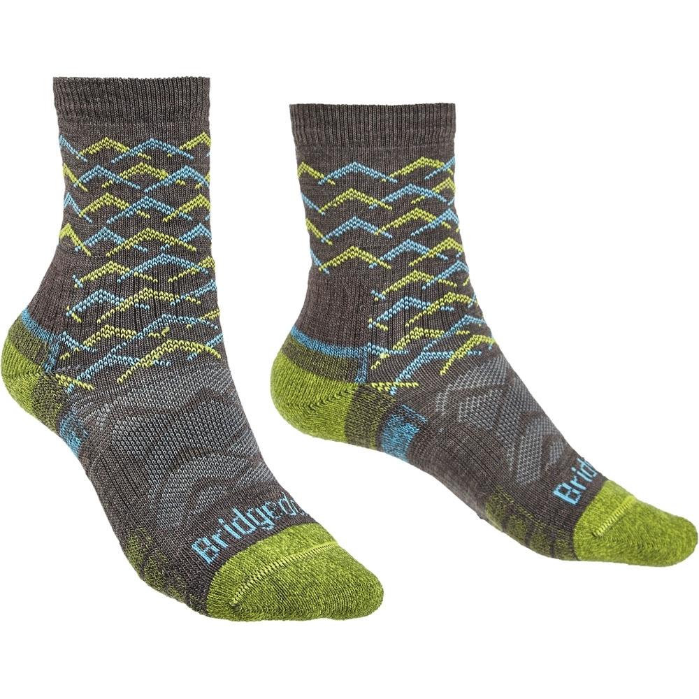 Bridgedale Womens Hike Lightweight Merino Wool Walking Socks Small - Uk 3-4.5 (eu 35-37  Us 4-6)